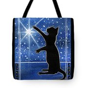 My Shinning Star - Christmas Cat Tote Bag