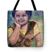 My Son When He Was A Toddler Tote Bag