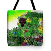 My Strange Wonderful And Somewhat Creepy Garden Tote Bag
