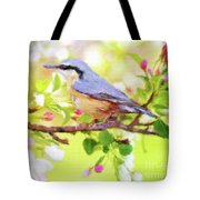 My Summer Bird Tote Bag