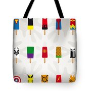 My Superhero Ice Pop - Univers Tote Bag by Chungkong Art