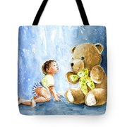 My Teddy And Me 03 Tote Bag