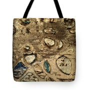 My Textured Stones B Tote Bag by Sonya Wilson