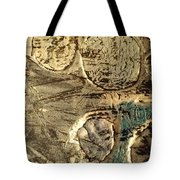 My Textured Stones E Tote Bag