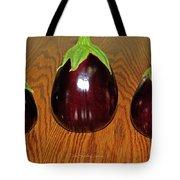My Three Eggplant Fruits Tote Bag