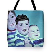 My Three Sons Tote Bag