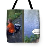 My Turn - Gently Cross Your Eyes And Focus On The Middle Image Tote Bag