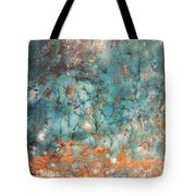 My Turquoise Tote Bag