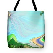 My Valley Home Tote Bag