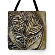 Vintaje Tile With Calas  Tote Bag