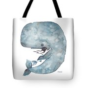My Whale Tote Bag