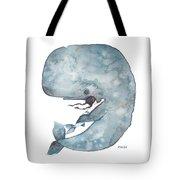 My Whale Tote Bag
