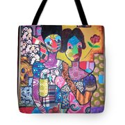 My Wife And I Tote Bag