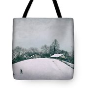 My Wintry Homey Snowy Planet Tote Bag