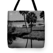 Myakka River Reflections Tote Bag