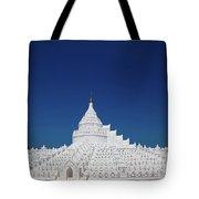 Myanmar. Mingun. The Hsinbyume Pagoda. Tote Bag