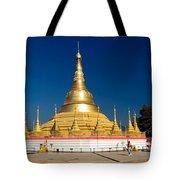 Myanmar Temple Tote Bag