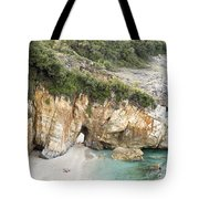 Mylopotamos Beach, Pelion, Greece Tote Bag