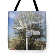 Mylor Signpost Tote Bag