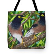 Mynah Birds #474 Tote Bag