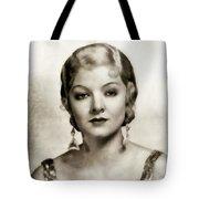 Myrna Loy, Vintage Actress Tote Bag