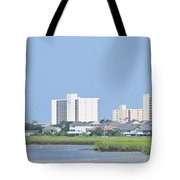 Myrtle Beach Hotels Tote Bag