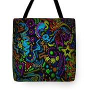 Mysteries Of The Night Tote Bag