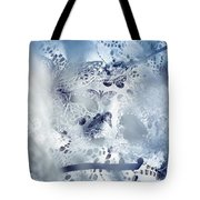 Mysterious Carnival Mask Tote Bag