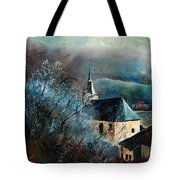Mysterious Chapel Tote Bag