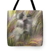 Mysterious Couple Tote Bag