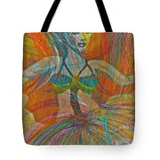 Mysterious Dancer Tote Bag