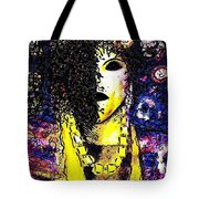 Mysterious Encounter Tote Bag