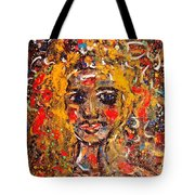 Mysterious Eyes Tote Bag