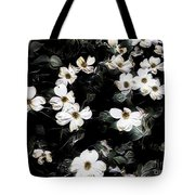 Mysterious Floral Tote Bag