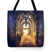 Mysterious Hallway Tote Bag