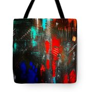 Mysterious Inferno  Tote Bag