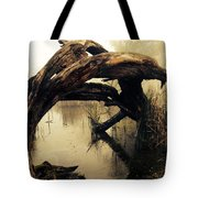 Mysterious Marsh Tote Bag