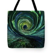 Mysterious Wave Tote Bag