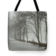 Mysterious Winter  Tote Bag