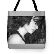 Mystery - Self Portrait Tote Bag