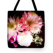 Mystery Of A Flower Tote Bag