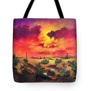 Mystery Of The Desert Tote Bag