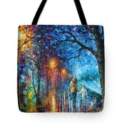 Mystery Of The Night Tote Bag