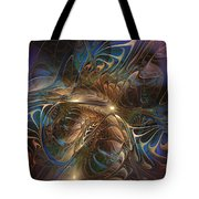 Mystery Spread Its Cloak Tote Bag