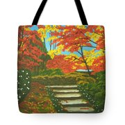 Mystery Walk Tote Bag