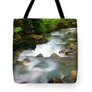 Mystic Creek Tote Bag