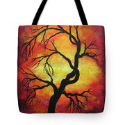 Mystic Firestorm Tote Bag