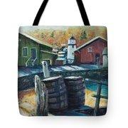 Mystic Harbor Tote Bag