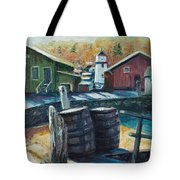 Mystic Harbor Tote Bag