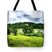 Mystic Hillside Tote Bag